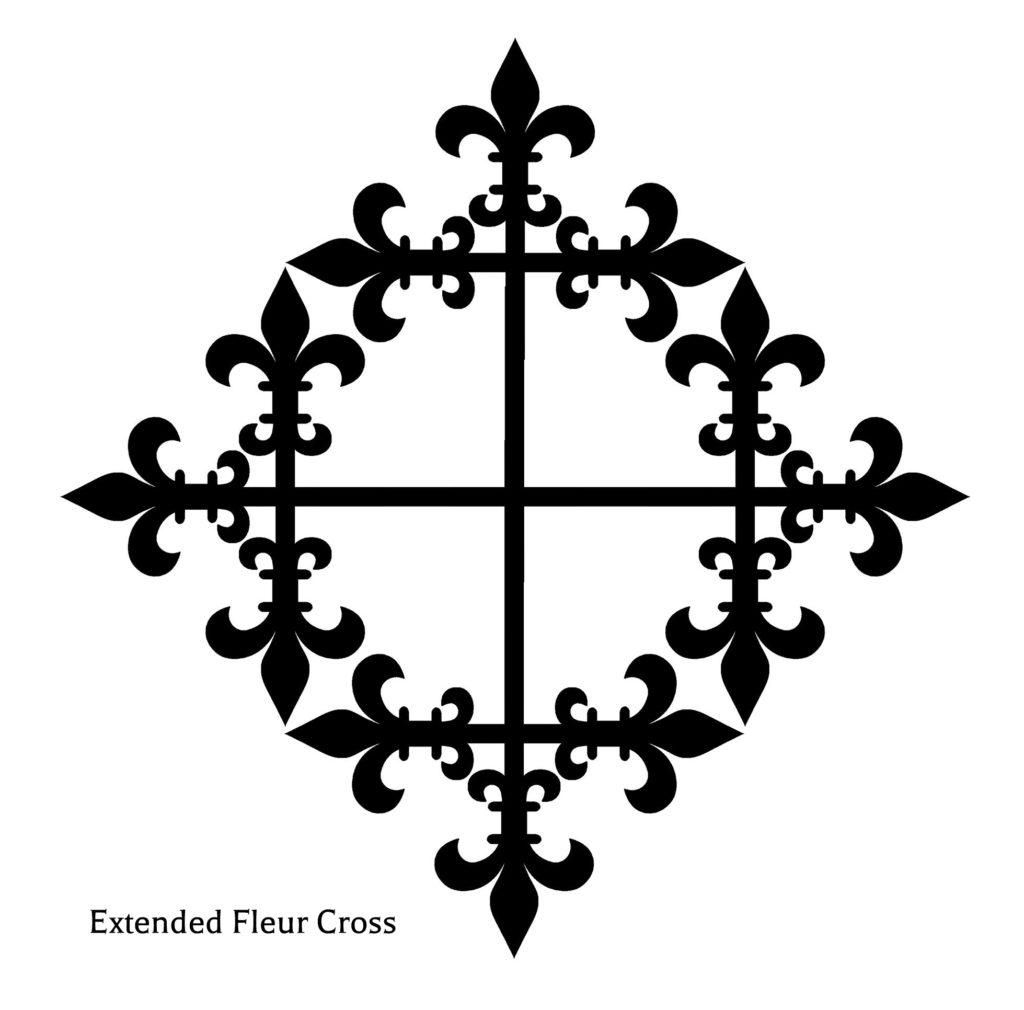 Extended Fleur Cross
