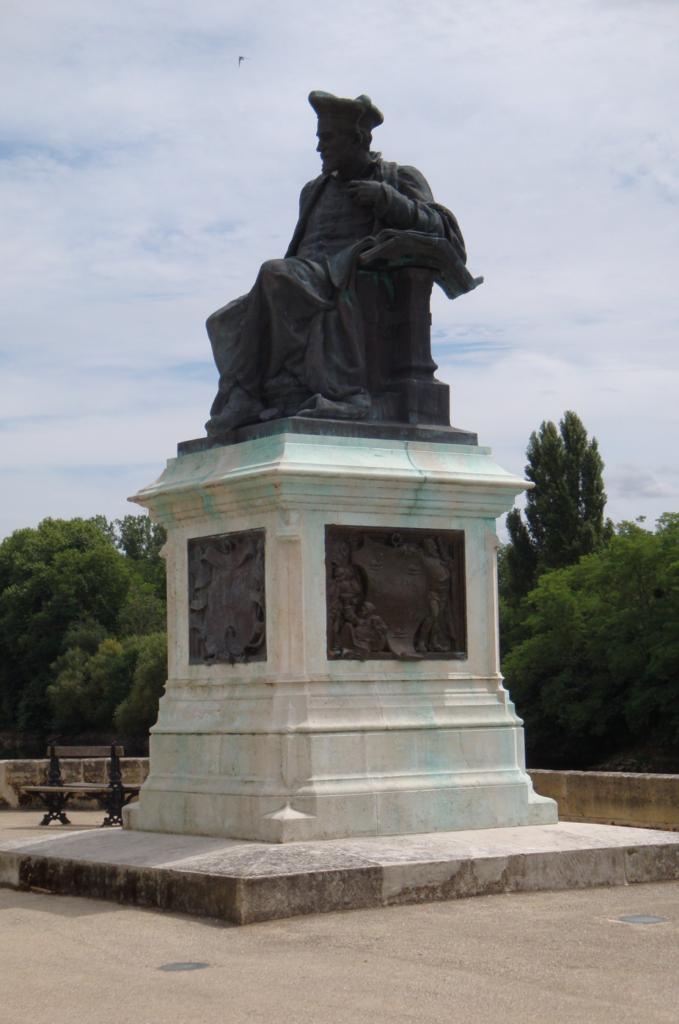 Statue of Francois Rabelais