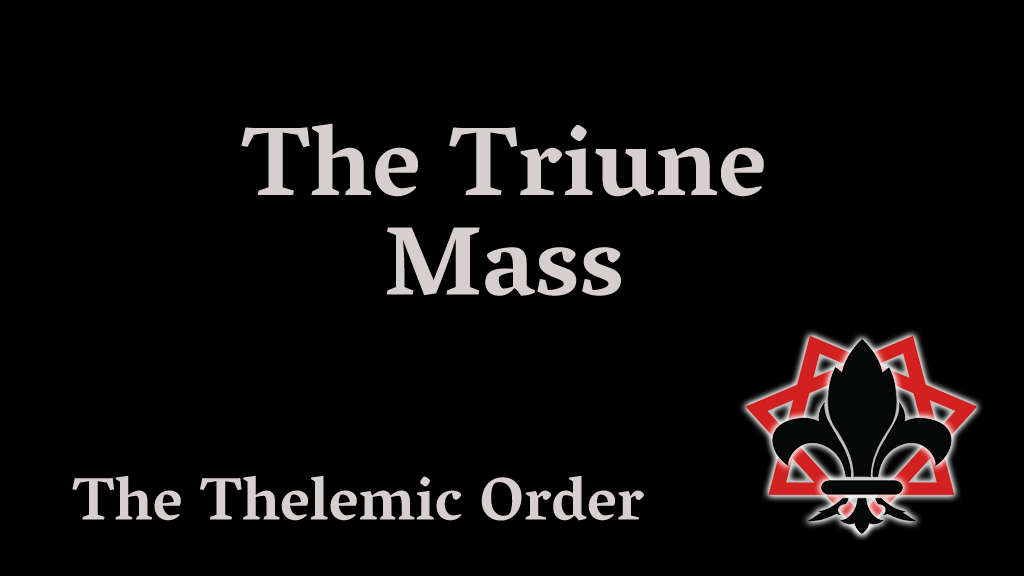 Title Card - The Triune Mass